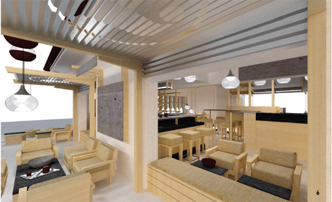 levante's coffee & bakery shop: output³ - ndu, Innenarchitektur ideen