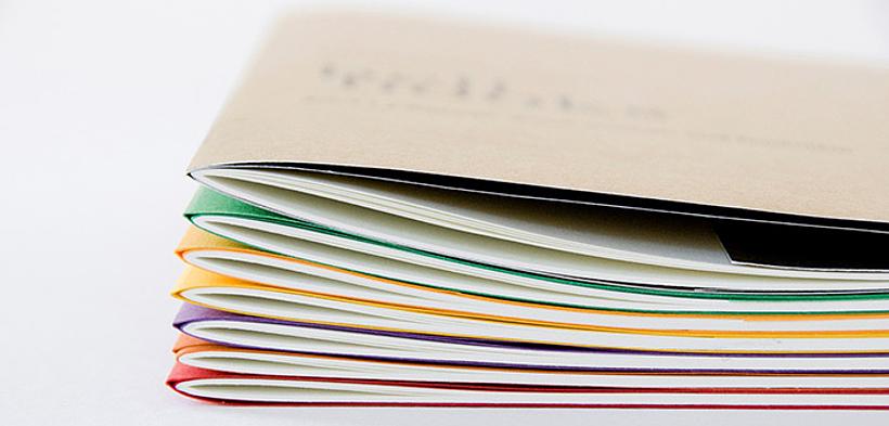 Buchgestaltung for Lehrgang innenarchitektur